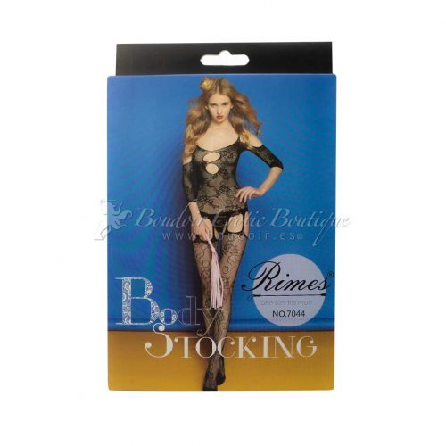 bodystocking with openings rimes