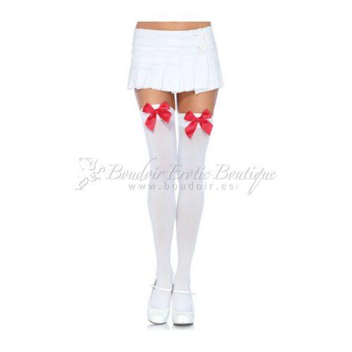 White Opaque Stockings