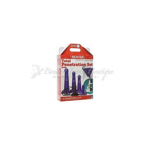 Vac-U-Lock Platinum Total Penetration Strap On Kit