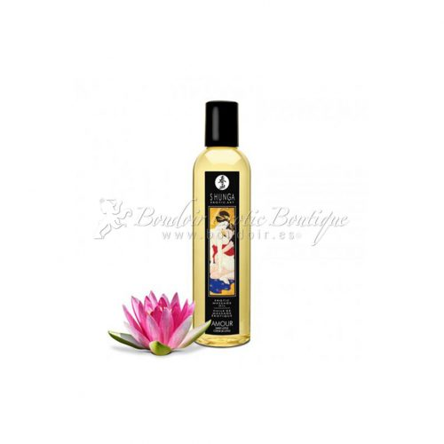 Shunga Massage Oil sweet lotus